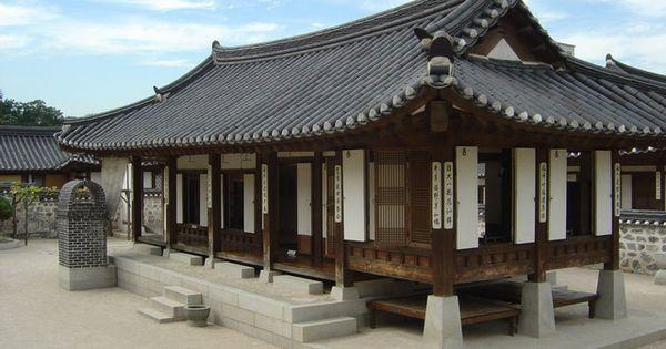 Casa tradicional coreana coreano pinterest casa for Casa moderna corea