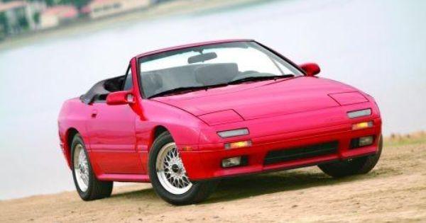 1988 91 Mazda Rx 7 Convertible Mazda Rx7 Mazda Convertible