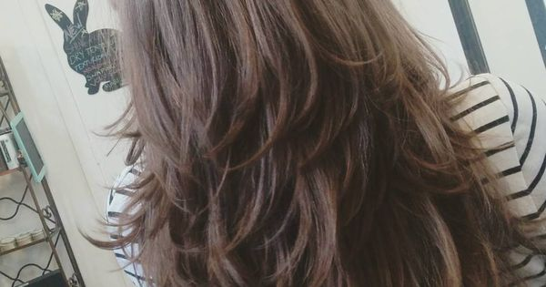 45 Straight Long Layered Hairstyles