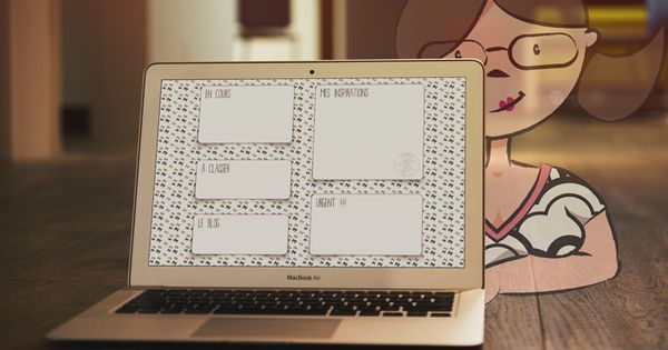 Un fond d 39 cran pour votre ordinateur goodies for Ecran graphisme