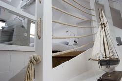 Escalier Rambarde Corde Avec Images Salons De Maisons Cotieres