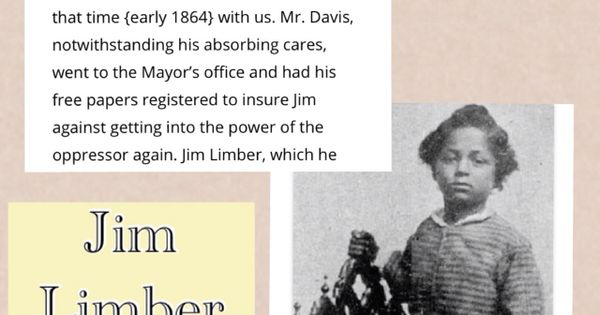 jefferson davis jim limber