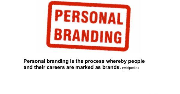 Personal Branding definition from Wikipedia. '#personalbranding ...