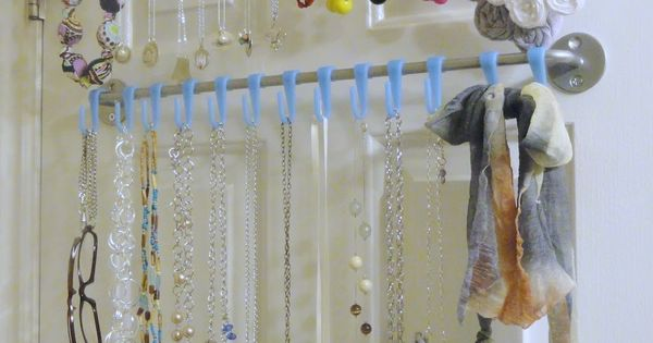 A Little Tipsy: DIY Jewelry Organizer I have forever tried to figure