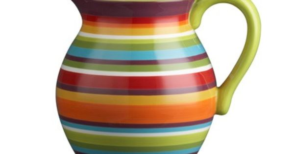 Photo Gallery Top 10 Colourful Kitchens Crate And Barrel Dining And Entertaining Pitcher