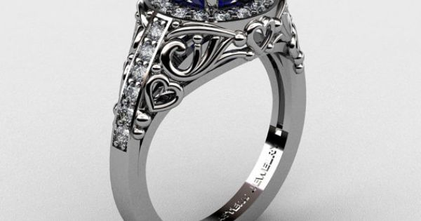 pictures of wedding rings italian 950 platinum 1 0 ct blue sapphire 6514
