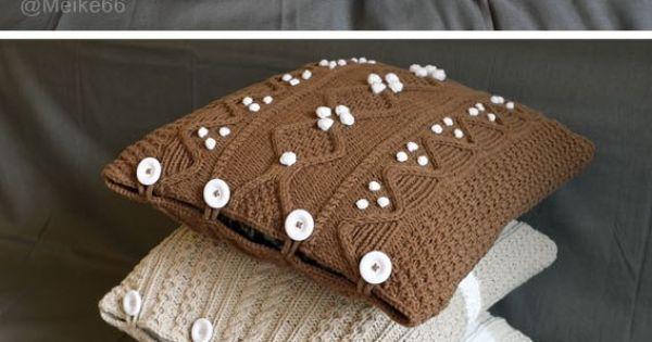 mod les de coussins irlandais tricot pinterest tricot et crochet. Black Bedroom Furniture Sets. Home Design Ideas