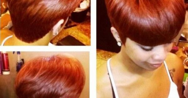 That Color Is Hot Natural And Cute Hairstyles