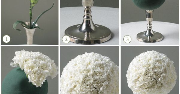 Are fake flowers a No, No ???? : wedding Diy Carnation Centerpieces