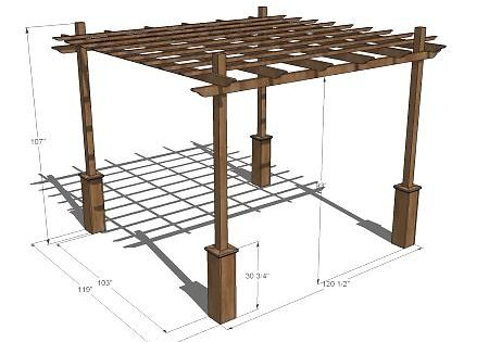 - Pergolas, Outdoor Pergola And Build Your Own On Pinterest