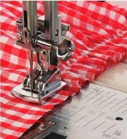 Frunciendo Tela Con Pie Prensatelas Fruncidor Accesorios De Costura Material De Costura Confeccion