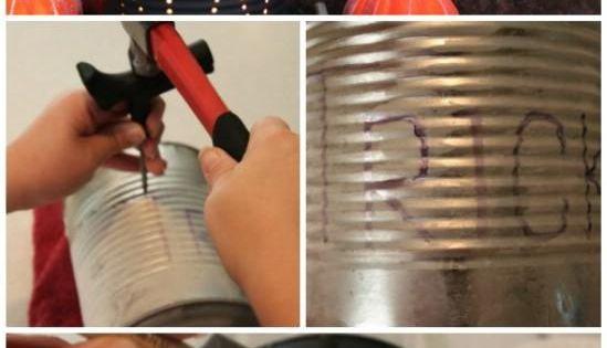 DIY Tutorial: DIY Halloween / DIY Halloween Decor Ideas/ Decorated cans. halloween