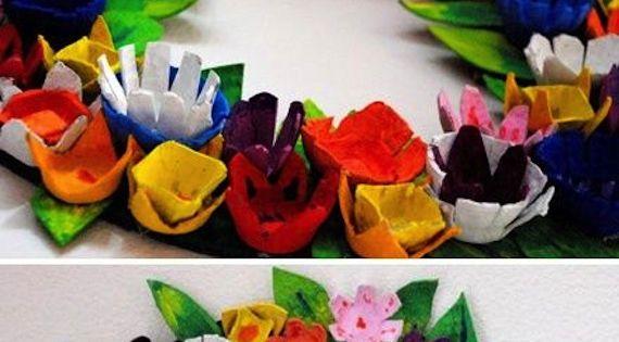 Con hueveras de carton egg carton idea la factor a - La factoria plastica ...