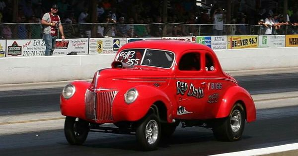 Coupe Vs Sedan >> Red Devil '40 Ford | Early Ford Gassers | Pinterest | Ford ...