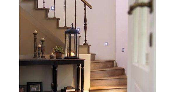 Houten trap landelijk interieur binnendeuren en trappen - Deco houten trap ...