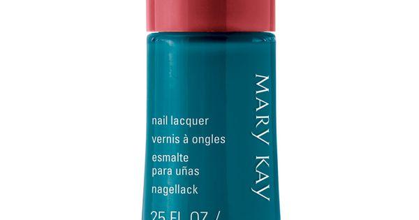 Panthers...Mary Kay® Nail Lacquer - Nails - Teal nail polish