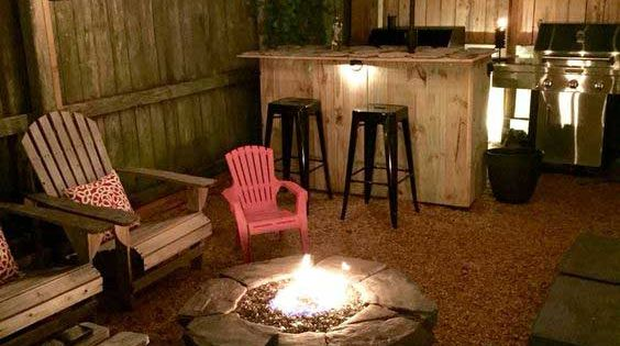 22 backyard fire pit ideas with cozy seating area backyard paradise backyard and outdoor - Types fire pits cozy outdoor spaces ...