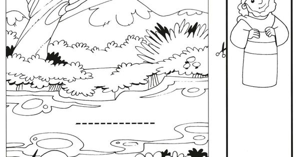 bible coloring pages naaman - photo#22