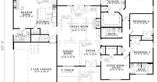 house plan 110 00898 craftsman plan 2 994 square feet 4 bedrooms 3 bathrooms large. Black Bedroom Furniture Sets. Home Design Ideas