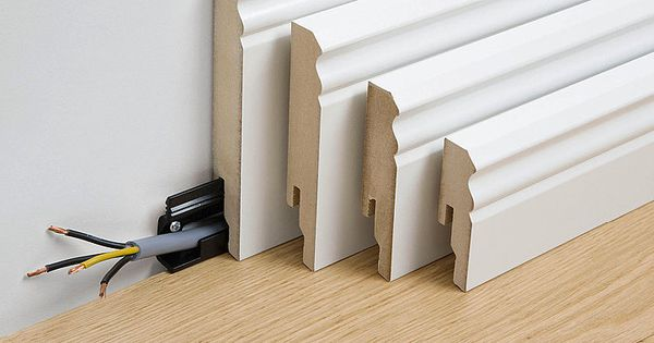 hiding cable in baseboard mouldings electric lighting pinterest hiding cables baseboard. Black Bedroom Furniture Sets. Home Design Ideas