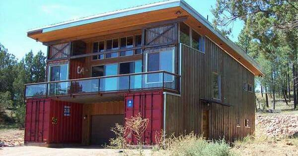 Container House Architecture Pinterest House