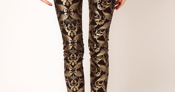 Baroque Gold Pants