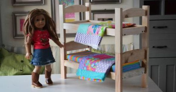 Ana White Build A Kid S Kit Doll Bed Free And Easy