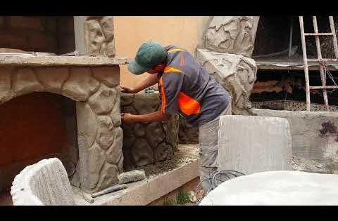 أسهل طريقة لى صنع حجارة اسمنت مع عبد العزيز Youtube Home Decor Decor Fireplace