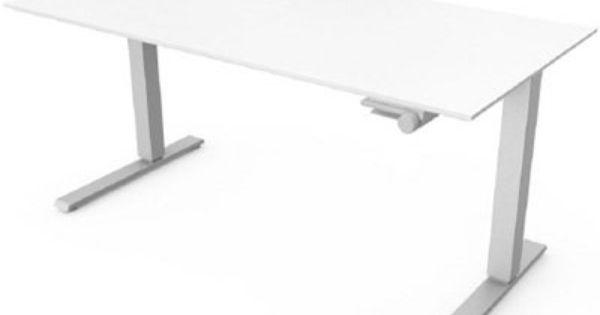 Humanscale Float Ft Height Adjustable Sit Stand Table Ergodirect Com Adjustable Standing Desk Adjustable Height Standing Desk Sit Stand Table