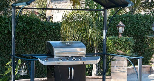 Better Homes And Gardens Wingfield Hard Top Grill Gazebo 7 2 39 X 4 9 39 Grill Gazebo Grilling