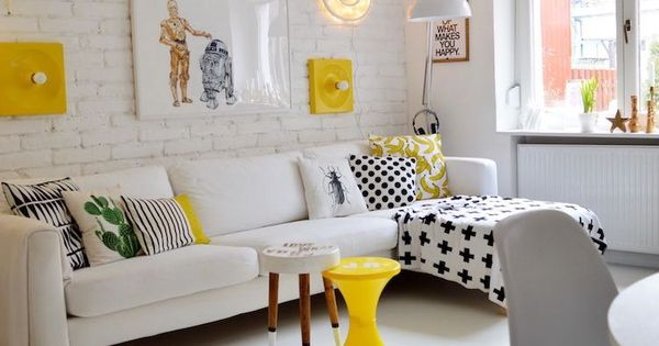 8 salones peque os inspiradores sal n peque o sal n y for Muebles para apartamentos pequenos