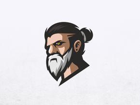 Beard Beard Logo Design Art Logo Graphic Design Logo