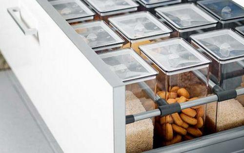 Küche in Ordnung halten Lebensmittel Aufbewahrung | Home Design ...