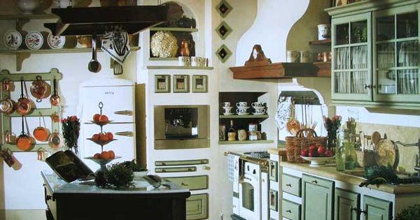 Cucine in muratura arredamenti country pinterest cucina for Arredamenti riccio