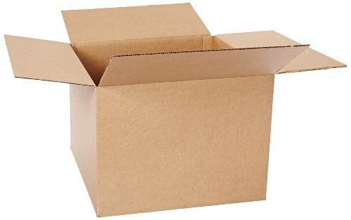 Bundle of 25 Aviditi 16126 Corrugated Box Kraft 16 Length x 12 Width x 6 Height