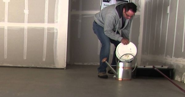 How to clean and seal concrete floors our new house has for Indoor concrete cleaner