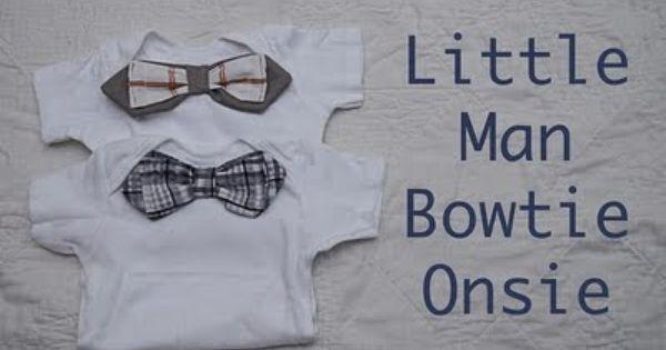 Little man bowtie onesie
