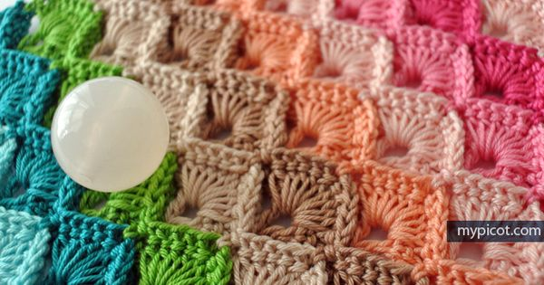 patterns Box stitch tutorial for multi color, single color, two color ...