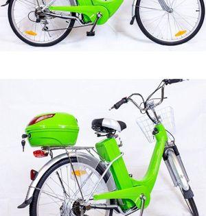 Mit Elektrofahrrad Konnen Sie Auch Ohne Treten Fahren Das Ist Dank Des Akkus Moglich Auf Eine Ladung Konnen Sie Bis Maximal 60 Elektrofahrrad Fahrrad E Bike