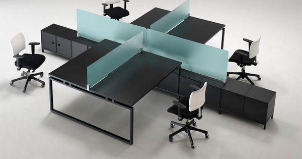 Estaciones de trabajo dise o oficina pinterest for Mobiliario oficina diseno