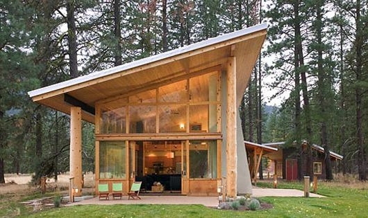 Little bit larger than i normally go for 1600 sq ft but for Small mountain home plans