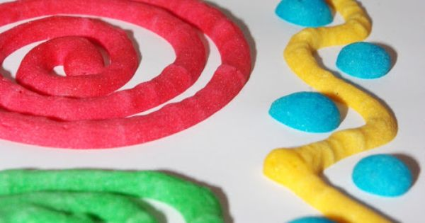 DIY Homemade Microwave Puffy Paint - awesome kids craft activity that only