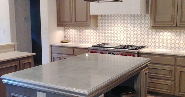 Design indulgence my latest obsession zinc countertops for Kitchen zinc design