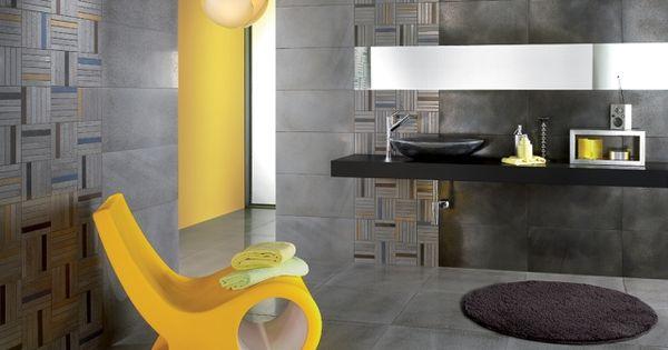 Badezimmer boden ~ Badezimmer fliesen ideen stahl optik grau wand boden badezimmer