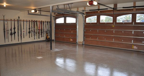 Epoxy garage floors are a great diy project you can do to for Great garage floors