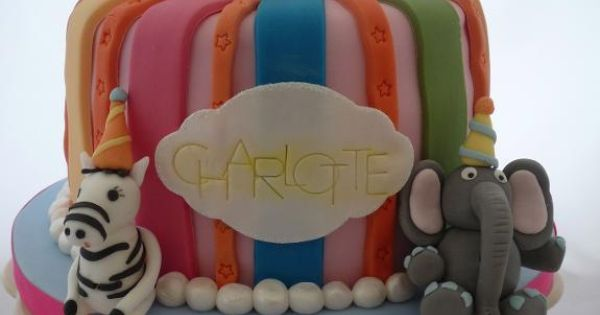 Cake Decorating: Circus Cake