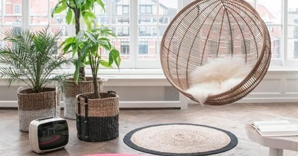 Alfombras de fibras naturales para decorar sillas - Alfombras de fibras naturales ...