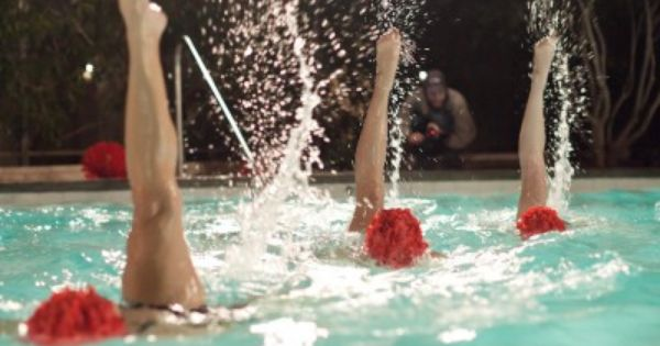 Water Ballet Show Aqualillies At Pool Party Pinterest Esther