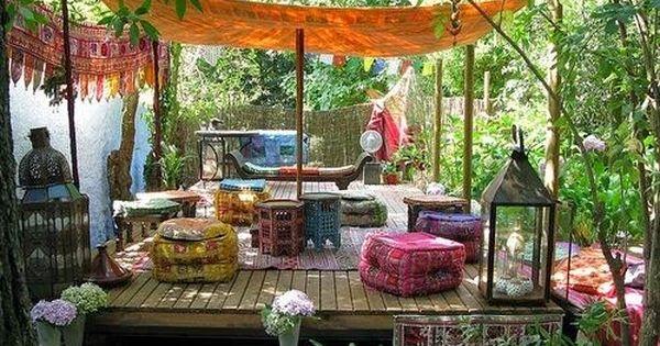 Terrasse home outdoors pinterest - Stijl asiatique ...