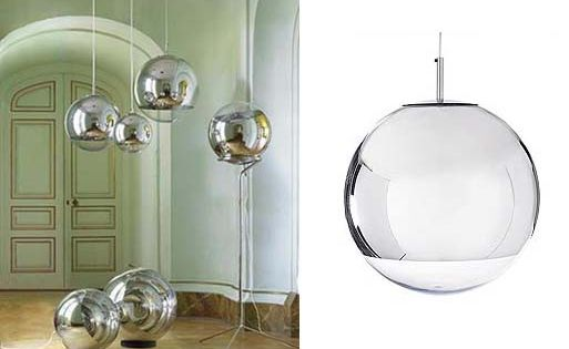 Mirror Ball Pendants And Floor Lamps By Tom Dixon Ball Lamps Lamp Chandelier Lamp